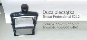 Duże pieczątki Trodat 5212 linii professional